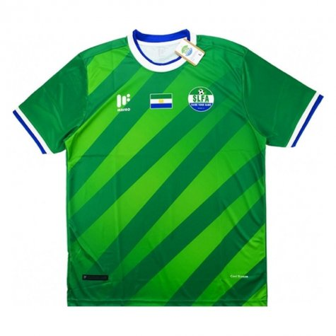 2017-18 Sierra Leone Home Football Shirt