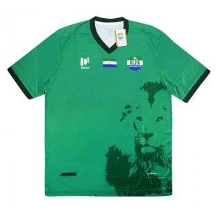 2018-2019 Sierra Leone Away Football Shirt