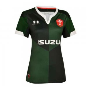 2019-2020 Wales Under Armour Away Ladies Rugby Shirt
