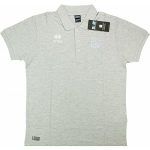 2016-17 Iceland Errea Polo Shirt (Grey)