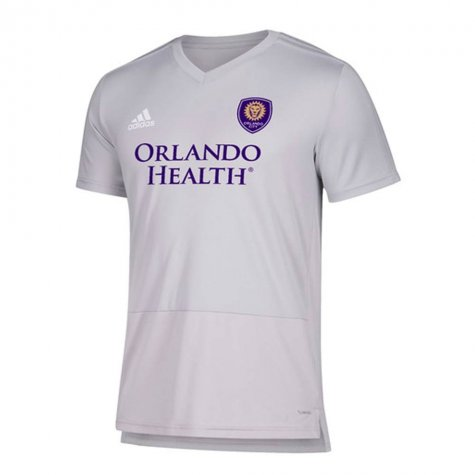 2018 Orlando City Adidas Trainng Top (Light Grey)