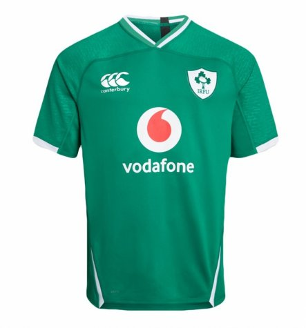2019-2020 Ireland Canterbury Home Rugby Shirt (Kids)