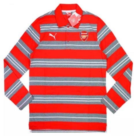 2014-15 Arsenal Puma T7 Polo L/S T-shirt