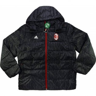 2016-17 AC Milan Adidas Padded Down Jacket (Black)