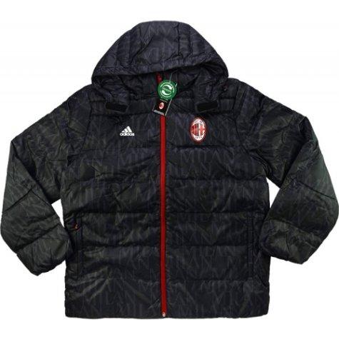 2016-17 AC Milan Adidas Padded Down Jacket (Black)