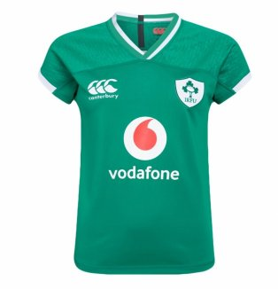 2019-2020 Ireland Canterbury Home Ladies Rugby Shirt