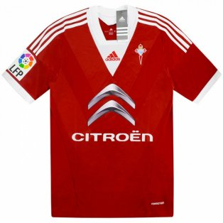 2013-2014 Celta Vigo Adidas Player Issue Third Formation Football Shirt