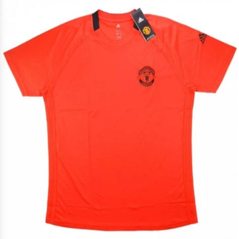 2016-17 Manchester United European Training Shirt (Red)