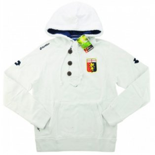 2013-14 Genoa Lotto Hooded Sweat Top