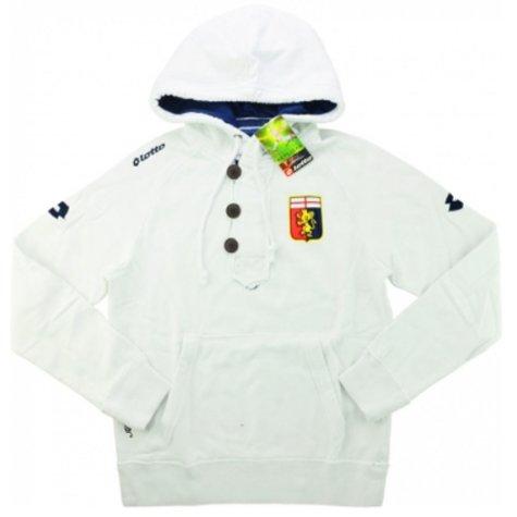 2013-14 Genoa Lotto Hooded Sweat Top