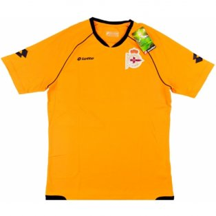 2013-14 Deportivo Lotto Training Shirt (Orange)