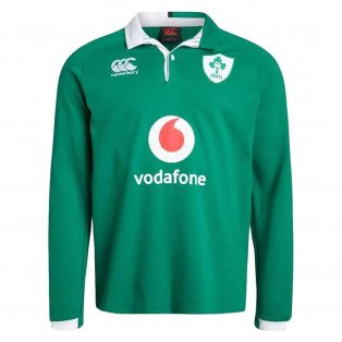 2019-2020 Ireland Canterbury Home Classic LS Rugby Shirt