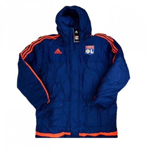 2015-16 Lyon Adidas Padded Stadium Jacket