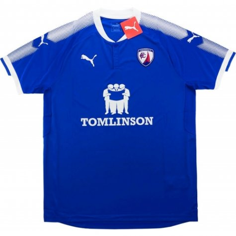 2017-18 Chesterfield Puma Home Football Shirt