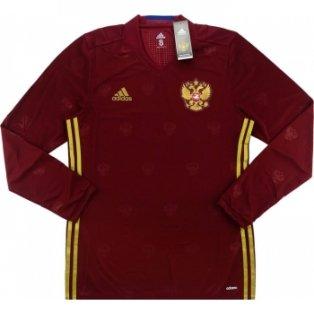 2016-17 Russia Adidas Authentic Away Long Sleeve Football Shirt