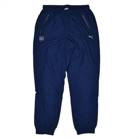 2015-16 Arsenal Puma Performance Woven Pants (Navy)