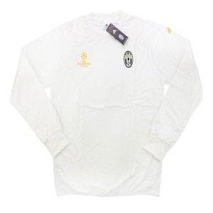 2016-17 Juventus Adidas Champions League Training Top (White)