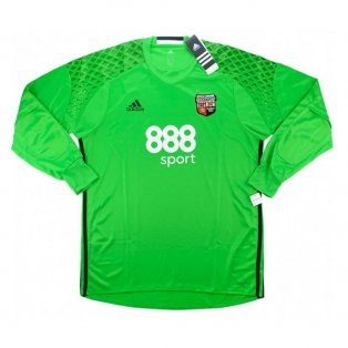 2016-2017 Brentford Adidas Goalkeeper Shirt