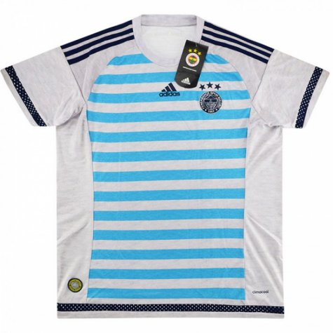 2015-16 Fenerbache Adidas Home Football Shirt