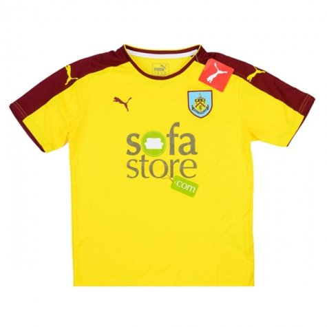 2015-16 Burnley Puma Away Football Shirt Kids