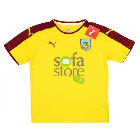 2015-16 Burnley Puma Away Football Shirt Kids