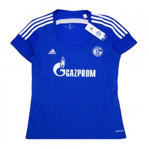2015-16 Schalke Adidas Home Women Football Shirt