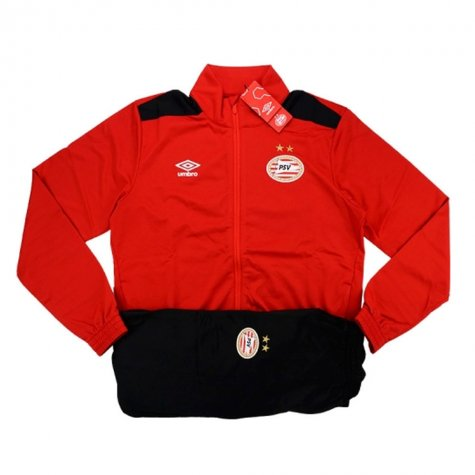 2016-17 PSV Knit Training Tracksuit (Red)