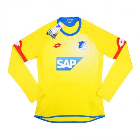 2015-16 TSG Hoffenheim Lotton Away Long Sleeve Football Shirt