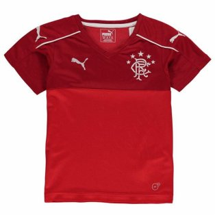 2017-18 Rangers Puma Away Football Shirt (Kids)