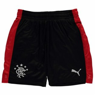 2017-18 Rangers Puma Away Football Shorts (Kids)