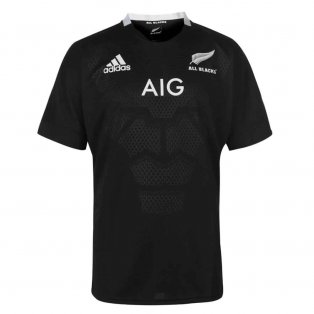 2018-2019 New Zealand Adidas Home Rugby Shirt