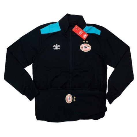 2016-17 PSV Knit Training Tracksuit (Black)