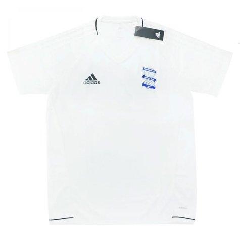 2017-18 Biringham City Adidas Training Shirt (White)