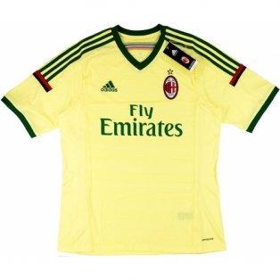 2014-15 AC Milan Adidas Third Football Shirt