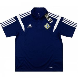 2016-17 Northern Irealnd Adidas Polo Shirt (Navy)