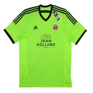 2015-16 Sheffield United Adidas Away Football Shirt