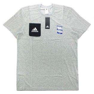 2017-18 Biringham City Adidas Training Tee (Grey)
