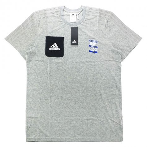 2017-18 Biringham City Adidas Training Tee (Grey)