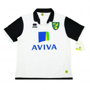 2013-14 Norwich Errea Away Women Shirt