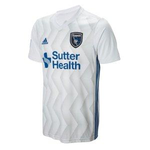 2018 San Jose Earthquakes Adidas Away Football Shirt - Kids