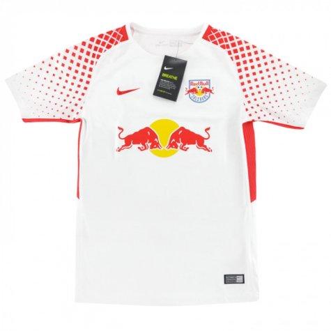 2017-2018 Red Bull Salzburg Nike Home Football Shirt (Kids)