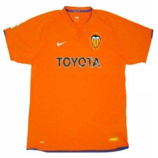 2007-08 Valencia Away Shirt