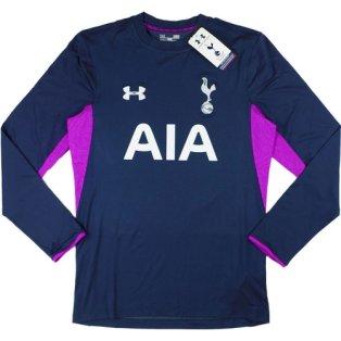 2014-15 Tottenham Hotspur Under Armour Authentic Away Goalkeeper Shirt