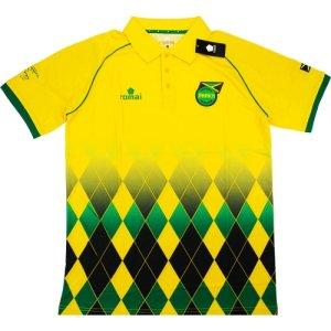 2015-16 Jamaica Romai Polo Shirt (Yellow)