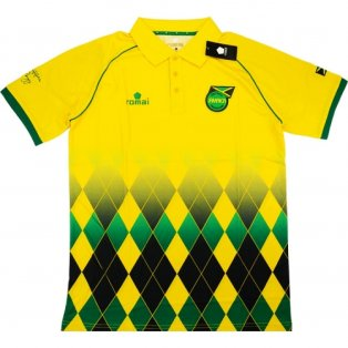 2015-16 Jamaica Romai Polo Shirt (Yellow)
