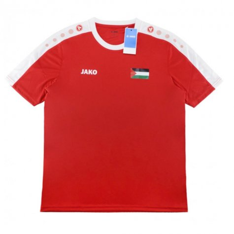 2019-2020 Palestine Jako Home Football Shirt