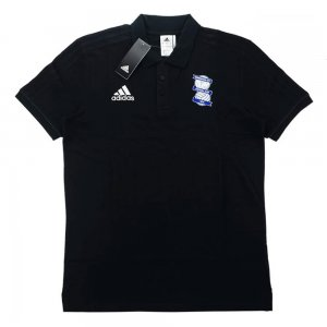 2017-18 Biringham City Adidas Training Polo Shirt (Black)