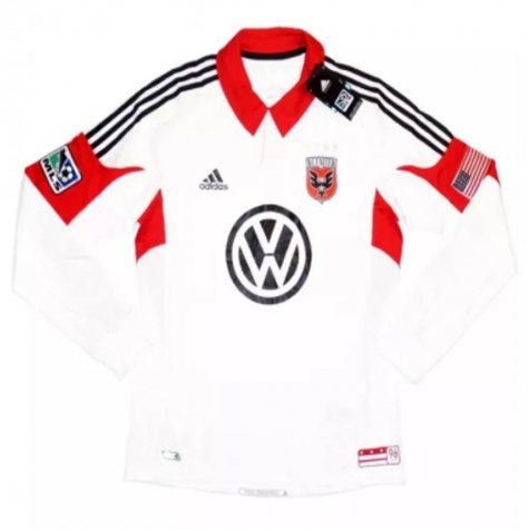 2012-13 DC United Authentic Away L/S Shirt