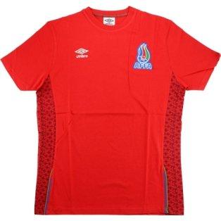 2015-16 Azerbaijan Umbro Training Shirt (Red)