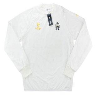 2016-17 Juventus Adidas Champions League Fleece Training Top (White)